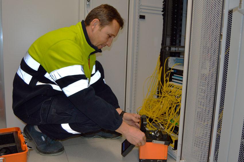 Manteniment de la xarxa de fibra òptica municipal